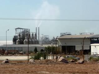 Photo Fanack / مصنع بوتاسيوم: أحد أكبر القطاعات في الاقتصاد الأردني