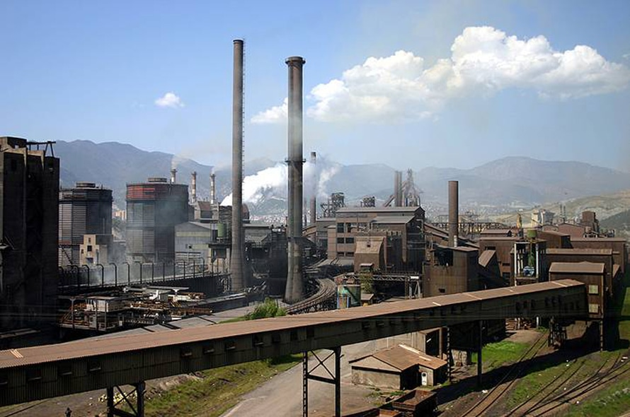 Iron and steel industry in Karabük /Geography Turkey