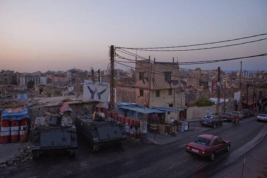 الحيش اللبناني يدافع المناطق الخطيرة في طرابلس / Photo Flickr
