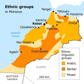 السكان في المغرب