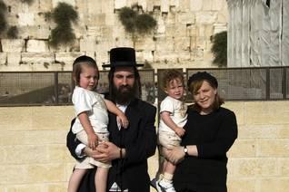 Visiting the Wailing Wall, Jerusalem, 2010 / Photo Shutterstock