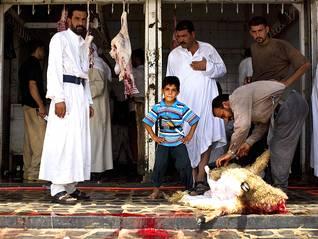 أول أيام رمضان في الفلوجة، 1 أيلول/سبتمبر 2008 Photo HH / اضغط للتكبير