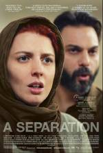 A Separation (Asghar Farhadi, 2011) Story of a Tehran family, torn between the choice of leaving the country or staying and taking care of a father, who has Alzheimer's disease (winner Oscar Best Foreign Movie in 2012)