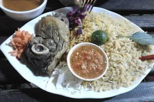 Saudi Arabian national dish: Lamb Kabseh