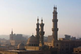Population Egypt - al-Azhar Mosque in Cairo