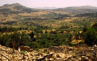 Remains of a Kurdish village, destroyed by the regime of Saddam Hussein, Photo Fanack