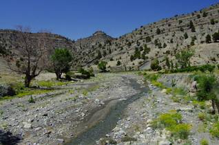 Small river in the High Atlas mountainsPhoto Jan Hoogland
