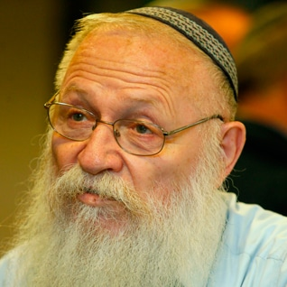 Rabbi Haim Drukman Israeli settlements