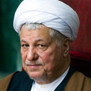 الرئيس أكبر هاشمي رفسنجاني