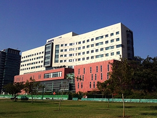 Assuta Hospital in Tel Aviv is the largest private hospital in Israel.