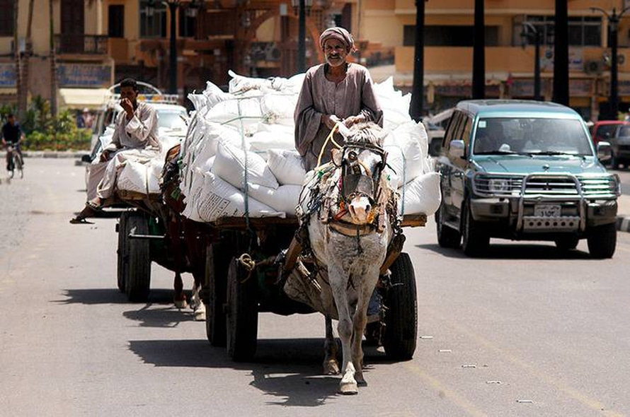 Economy Egypt - Luxor, 2007