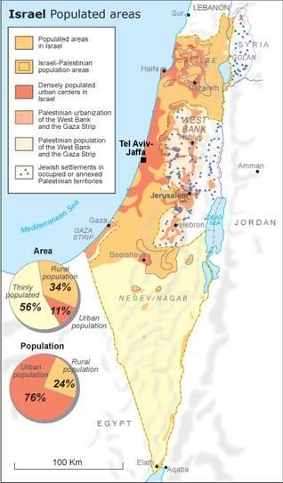 اسرائيل سكان