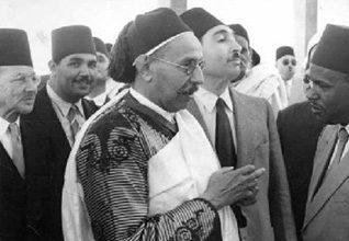 الملك إدريس الأول (ولد باسم السيد الأمير محمد إدريس بن محمد المهدي السنوسي؛ عام 1889-1983؛ حكم 1951-1969)