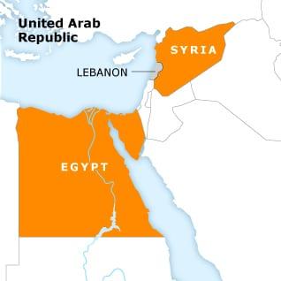 سوريا لبنان مصر