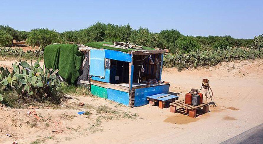 Economy Tunisia - sousse illegal gas