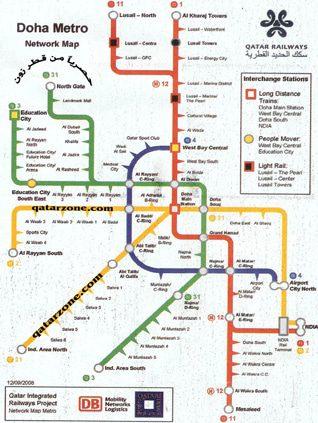 Economy Qatar - Future Underground System Doha