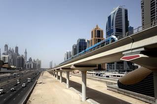 Economy UAE - Metro Line Sheikh Zayed Road