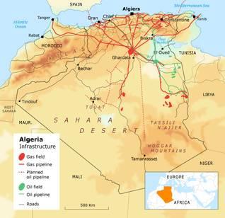 Economy Algeria - Infrastructure