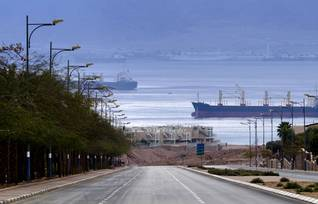 Economy Jordan - The port of Aqaba
