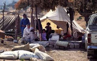عائلات كردية عادت إلى قراها لإعادة إعمار منازلهم التي دمرها نظام صدام حسين Photo Fanack
