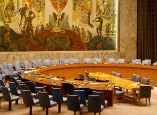 قاعة مجلس الأمن في المقر الرئيسي للأمم المتحدة في نيويورك Photo Shutterstock