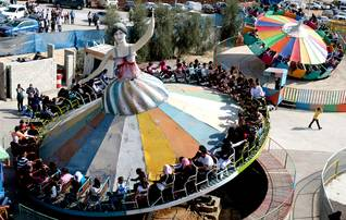 Carousel during Id al-Adha