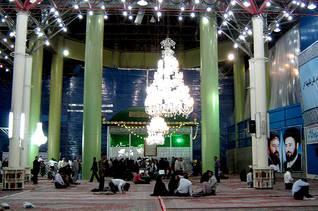 Khomeini's resting place in Behesht-e Zahra cemetery