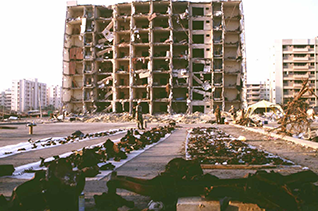 On 25 June 1996 the Khobar Towers in Khobar, which was being used as quarters for foreign military personnel, was largely destroyed by a car-bomb suicide attack, killing 20 and injuring 372 people