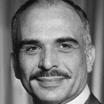 الملك حسين عاهل الأردن