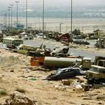طريق الكويت العراق السريع بعد هزيمة العراق