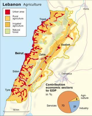لبنانا زراعه