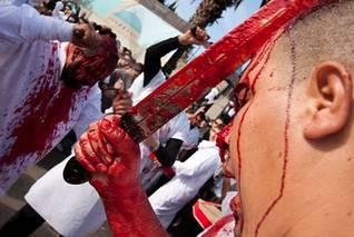 Lebanon-Ashura day in Nabatieh