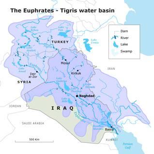 العراق الانهار