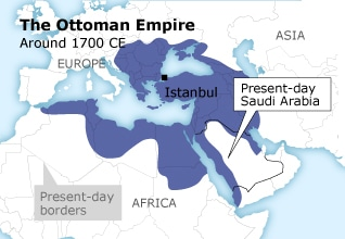 الامبرطورية العثمانية تركيا