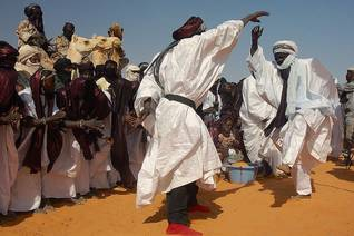 Tuareg tribal dance