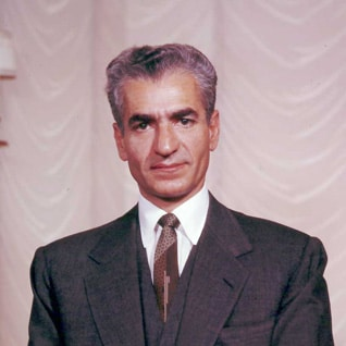 Mohammad Reza Shah Pahlavi (r. 1941-1979) in the 1970s