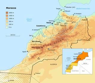 جغرافية المغرب