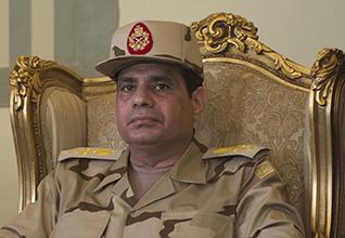 وزير الدفاع المصري عبد الفتاح السيسي في تلفيزيون المصري, 3 يونيو 2013