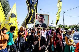 مظاهرات مؤيدة لمرسي في القاهرة