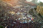 Anti-Morsi protests in June, Tahrir Square, Cairo / Photo Fanack