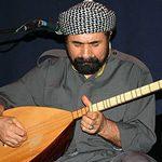 Sivan Perwer, playing the buzok
