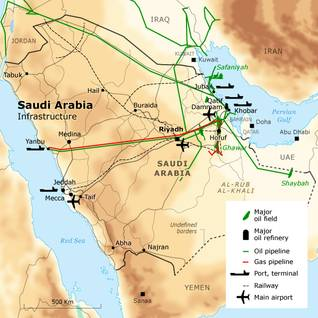 Saudi Arabia Geography Natural Resources And Climate