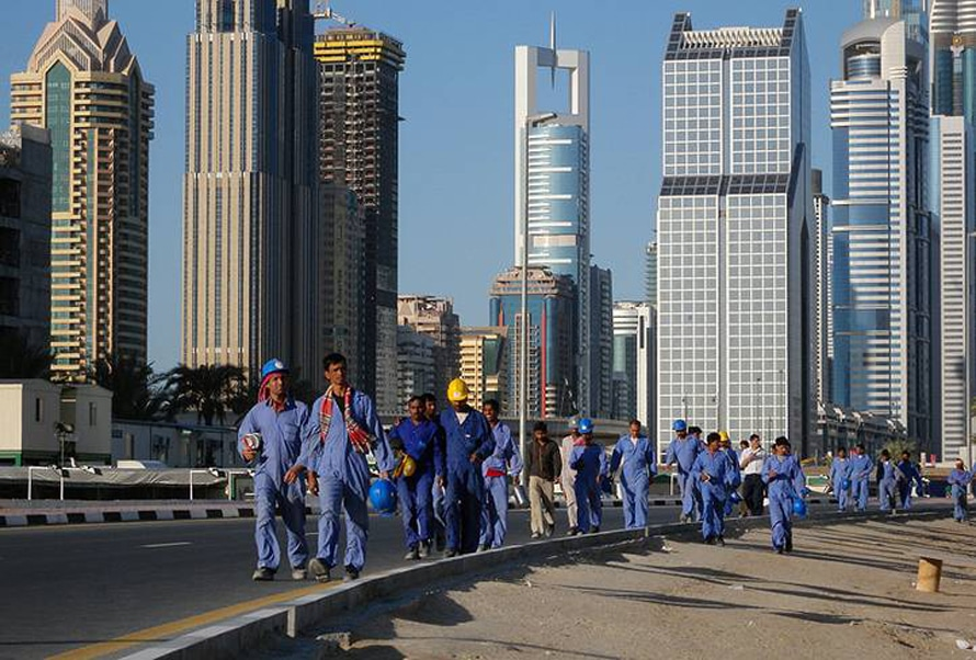 Population UAE - Foreign Workers Dubai