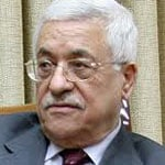 Fatah leader Mahmoud Abbas, President of PNA in the West Bank