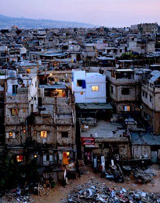 Palestinian refugee camp Bourj al-Barajneh Photo HH
