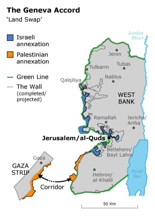 oslo accords the geneva accord