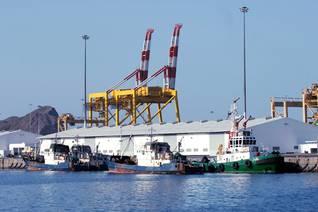 Oman Economy - Muscat Harbour