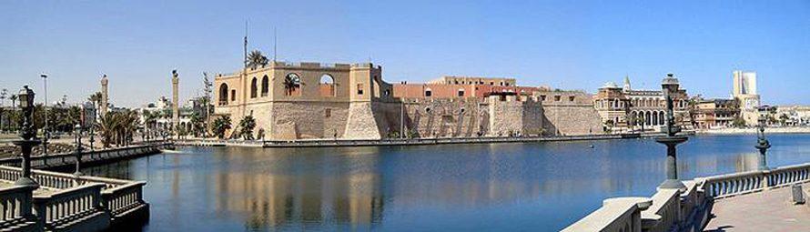 القلعة الحمراء في طرابلس بناها فرسان القديس يوحنا