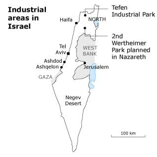 اسرائيل صناعه