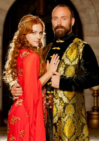 Images from the highly popular TV series Muhteşem Yüzyıl, based on the life of Suleiman the Magnificent, the longest reigning Sultan of the Ottoman Empire, 2012